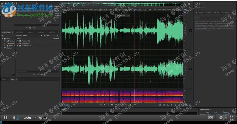 音乐频谱电路板