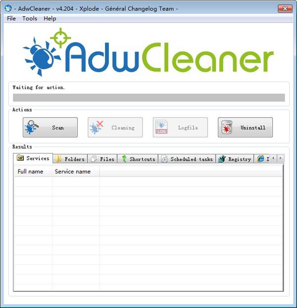 AdwCleaner(清除浏览器劫持) 7.2.5.0 绿色版