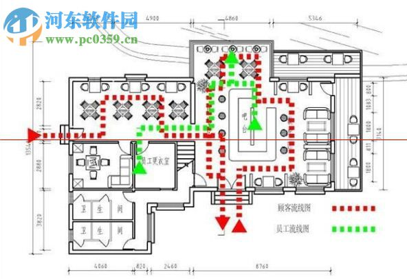 咖啡厅CAD视频v视频教程下载2017最新版-河aotocad图纸大全图片