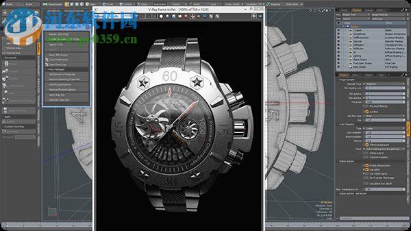 vray2010渲染器下载 3dmax2010渲染器vray 支持64位 32位 中文版 河
