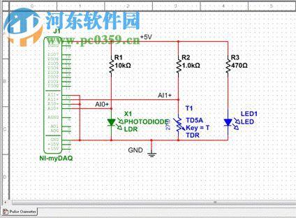 multisim电路原理图