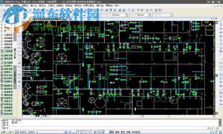 本软件拥有数化设计配电柜及电缆沟平