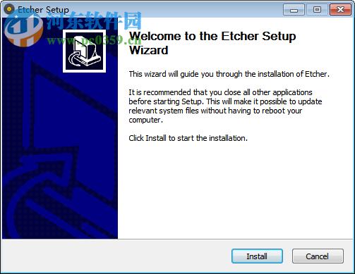 Etcher(u盘镜像制作工具) 1.5.51 官方版