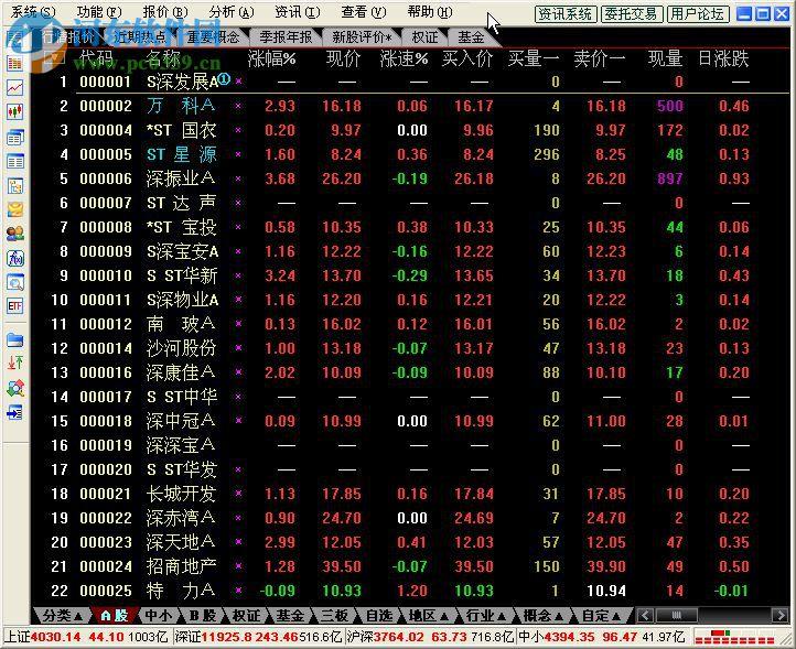 通信达股票助手软件 6.11 官方中文版