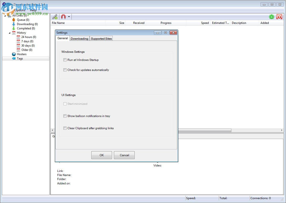 Tiny Downloader(视频流媒体下载器) 1.1.4 绿色版
