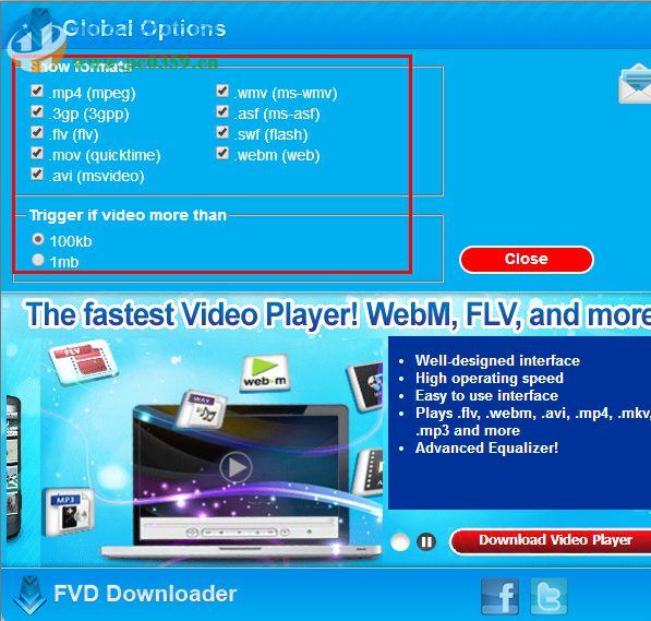 fvd downloader插件 6.5.1 官方版