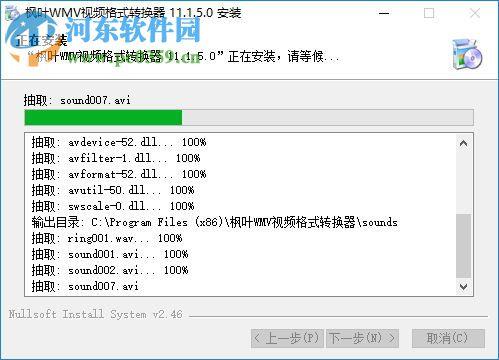 枫叶WMV视频格式转换器下载 11.7.5.0 共享版