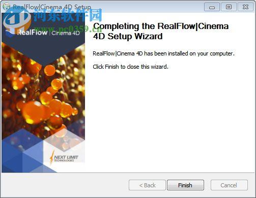 Realflow for C4D R18汉化版 2.3.1 中文破解版