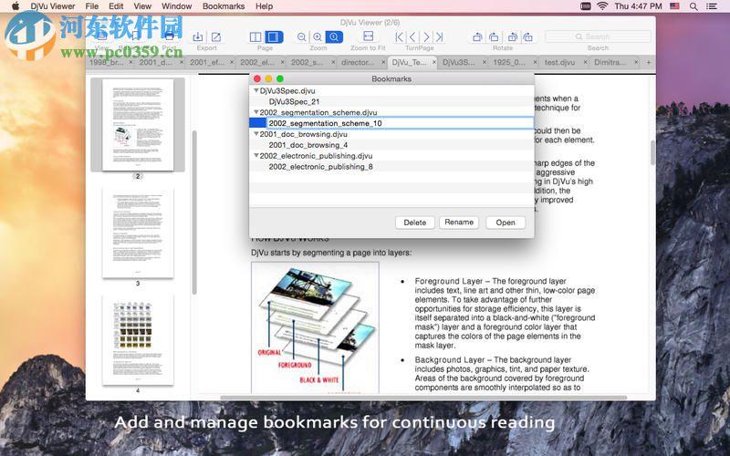 DjVu Viewer for Mac 3.1.0
