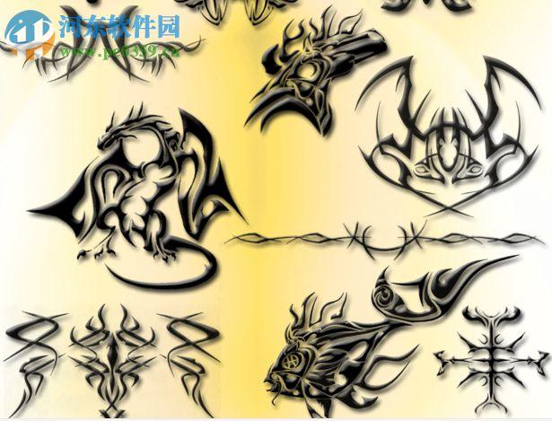 ps纹身笔刷2017 免费版