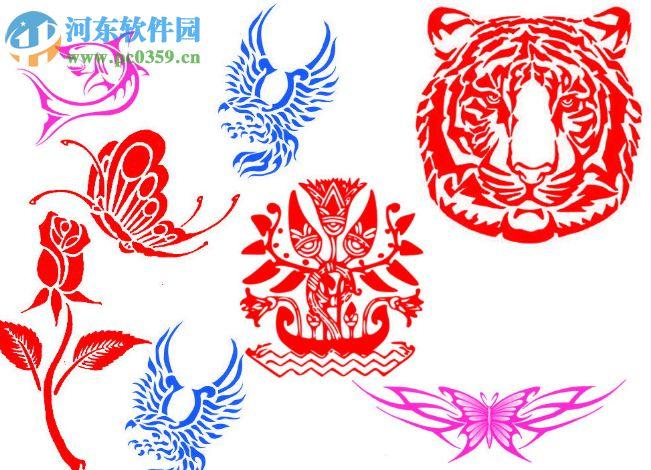 ps纹身笔刷 2017 免费版