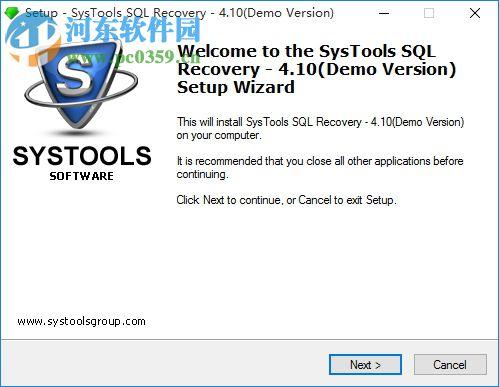 SysTools SQL Recovery下载(数据恢复软件) 6.0 免费版