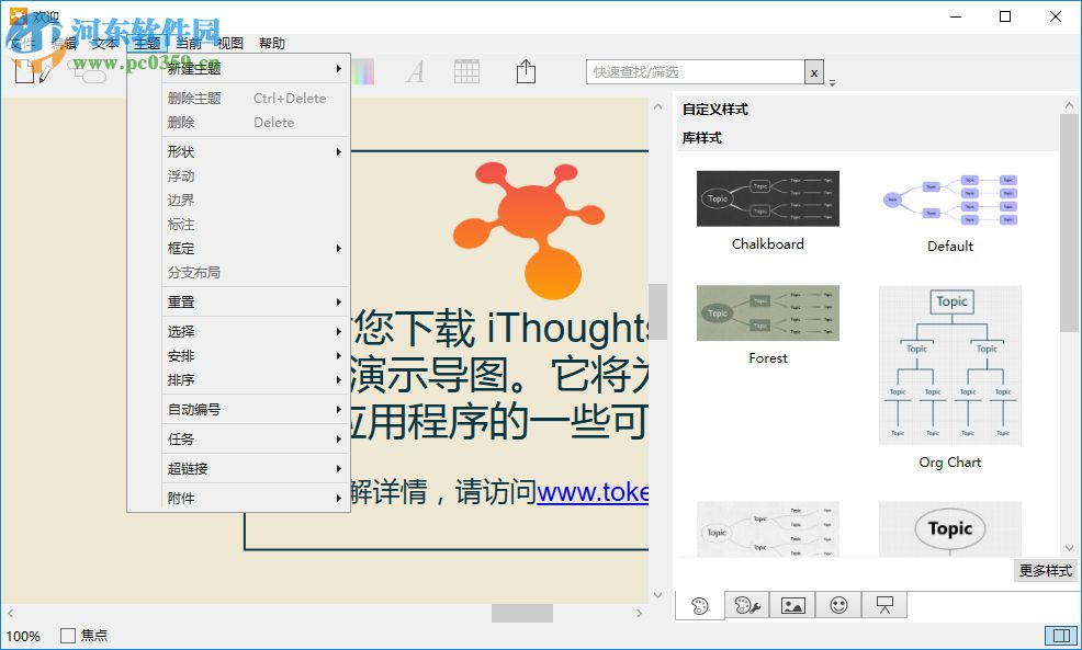 ithoughts windows(思维导图软件)