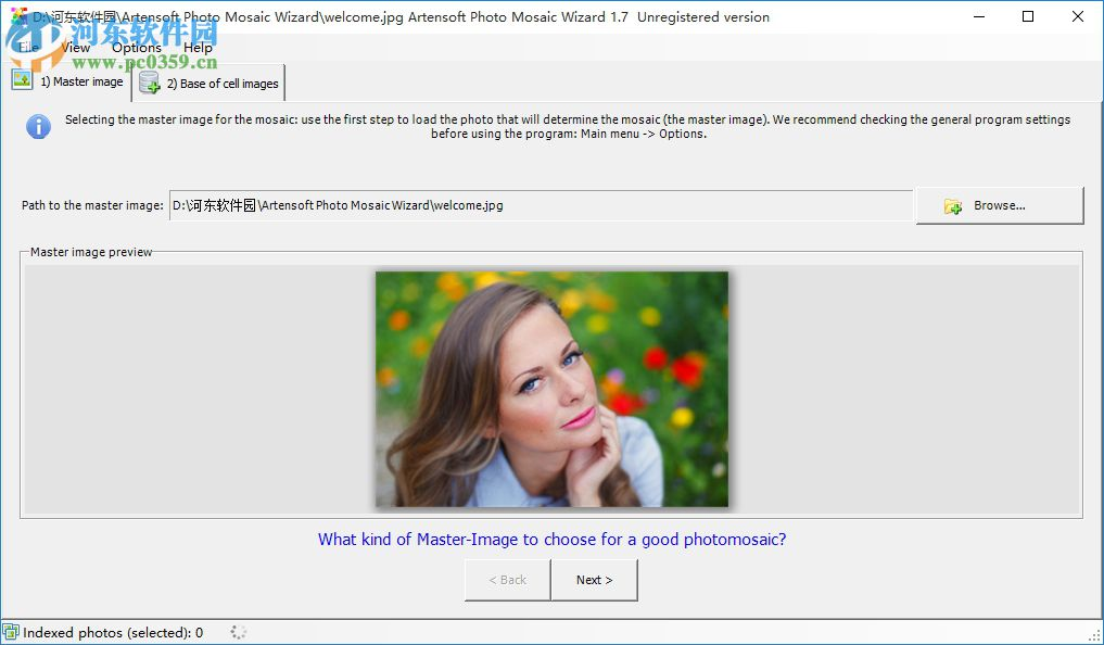关键词自动生成软件(Artensoft Photo Mosaic Wizard) 2.0.140 中文版