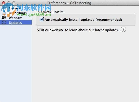 GoToMeeting for mac(多人视频会议软件) 7.6.0 官方版