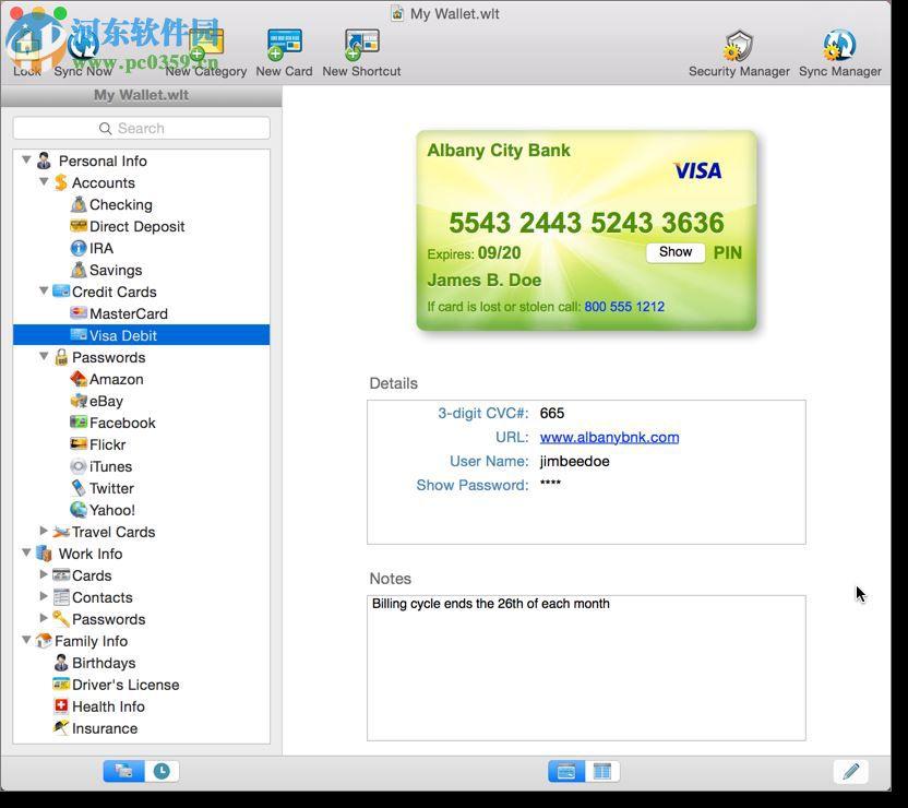 eWallet for mac(密码管理工具) 8.3.7 官方版