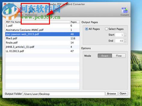 PDF to Word by Hewbo for mac(pdf转word转换器) 3.30 免费版