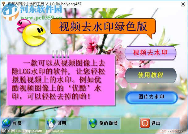 视频图片去水印工具 1.0 中文免费版