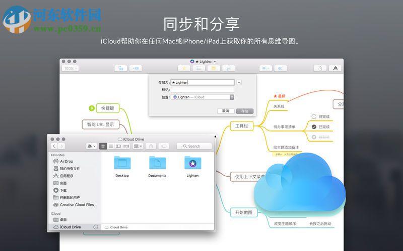 Lighten 思维导图 for mac(思维导图制作工具) 1.0 官方版
