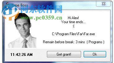 Time Boss(电脑使用时间限制软件)
