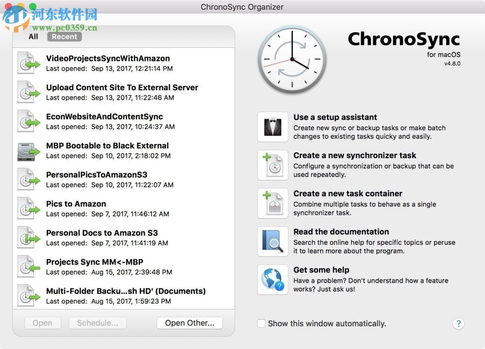 ChronoSync for mac(数据备份工具) 4.8.2 官方版