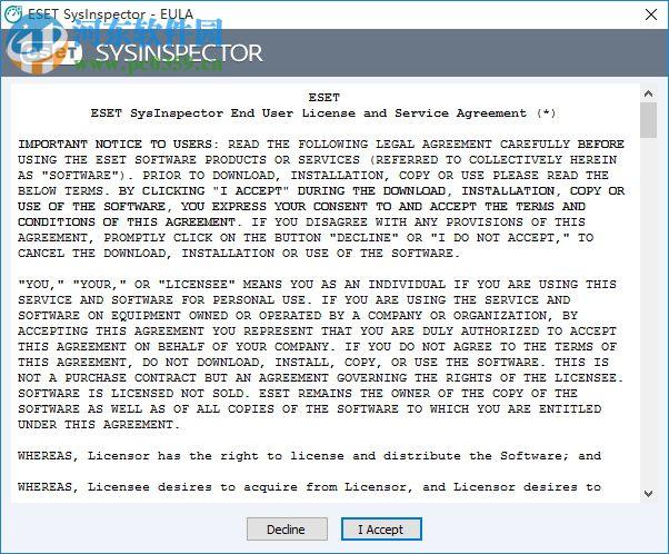 ESET SysInspector(电脑系统检测工具) 1.3.14.0 英文绿色免费版