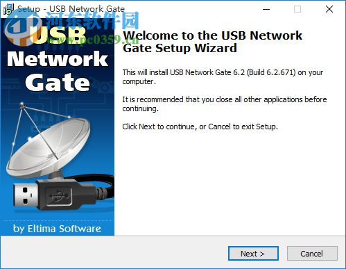 USB Network Gate下载(USB设备远程共享软件) 6.2 官方版
