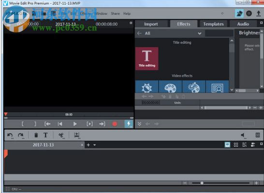 magix movie edit pro premium 2018破解版 17.0.1.128 免费版