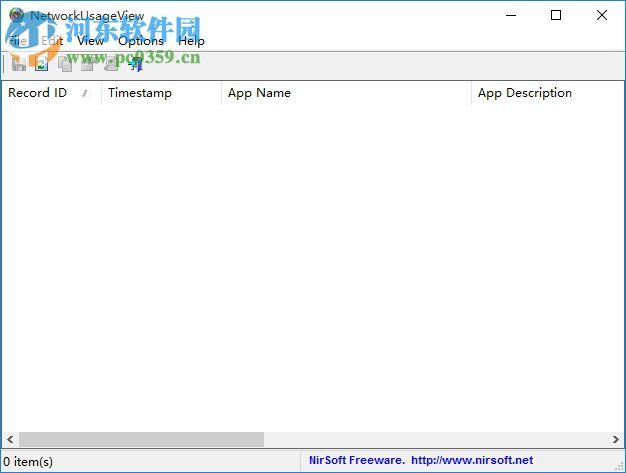 NetworkUsageView(宽带使用分析软件) 1.06 免费版
