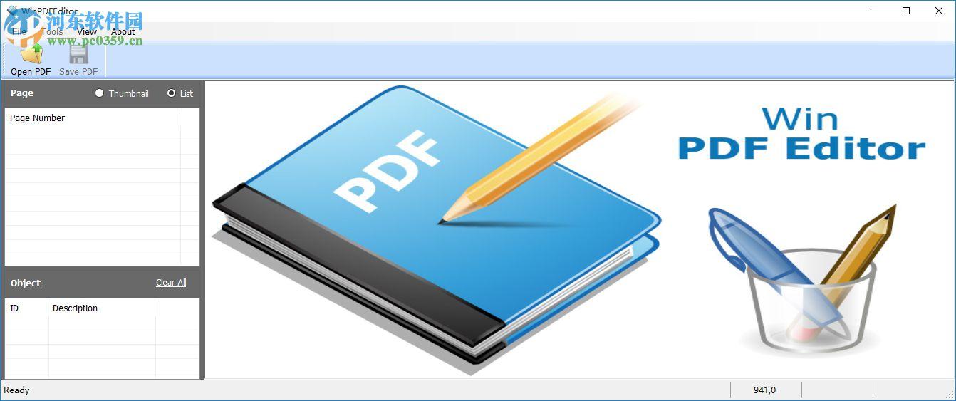 WinPDFEditor下载(PDF编辑转换工具) 绿色破解版