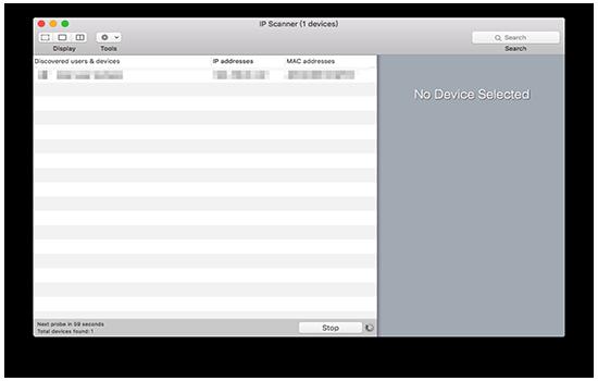 ip scanner mac版下载(局域网ip扫描软件) 3.63 免费版