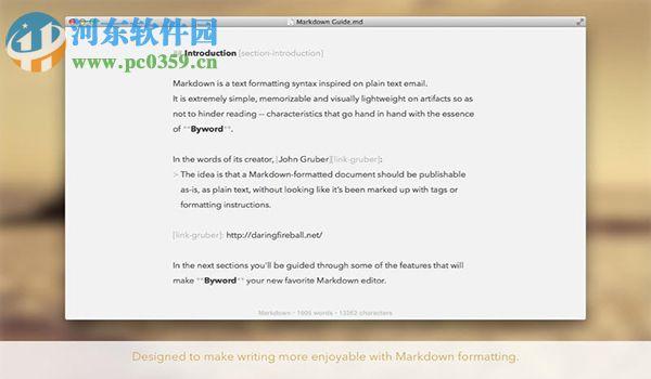 byword for mac下载(文字编辑软件) 2.8.1 免费版