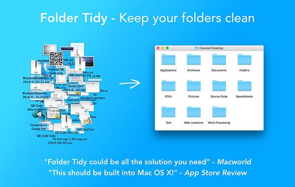 Folder Tidy Mac版下载(桌面文件管理软件) 2.7.1 免费版