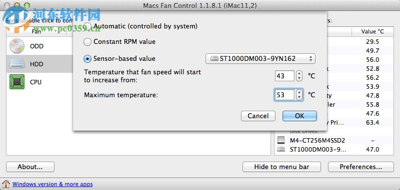 macs fan control mac版下载(温度监控软件) 1.4.9 免费版