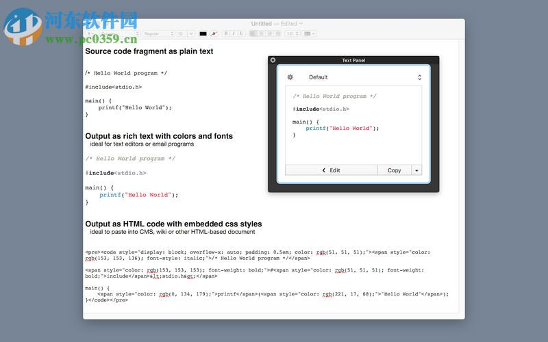 TextSer for Mac下载(文本处理软件) 2.0 官方版