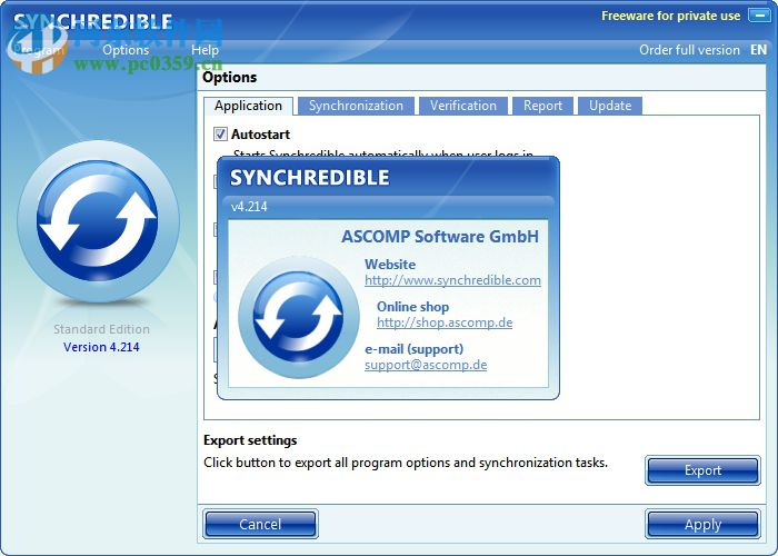 Synchredible(数据同步工具) 5.300 绿色版