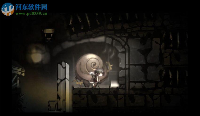 黑暗的气氛搭配上可爱的角色确实让人耳目一新,作为一部解密类型游戏