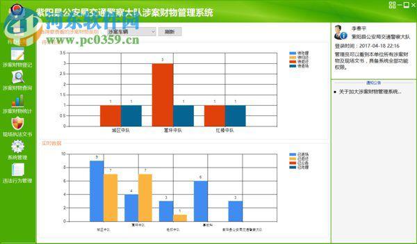 交警大队涉案财物管理系统 5.8.2.8 官方版