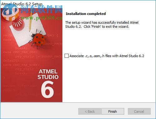atmel studio 6 6.2 免费版