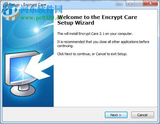 电脑隐私加密软件(Encrypt Care) 2.3 官方版