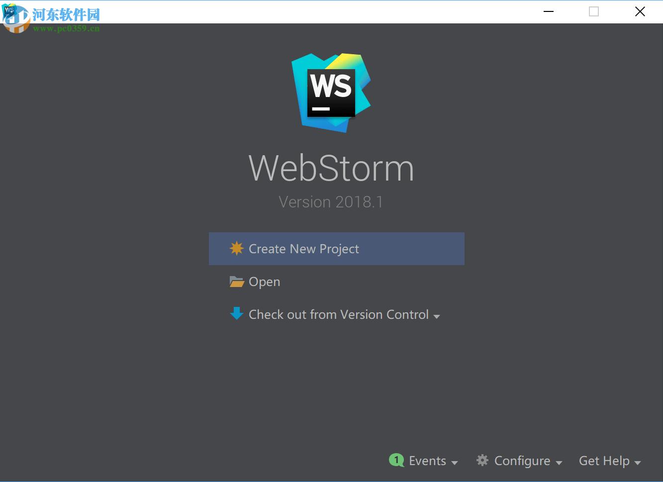 webstorm 2018注册码和破解激活补丁 附安装教程