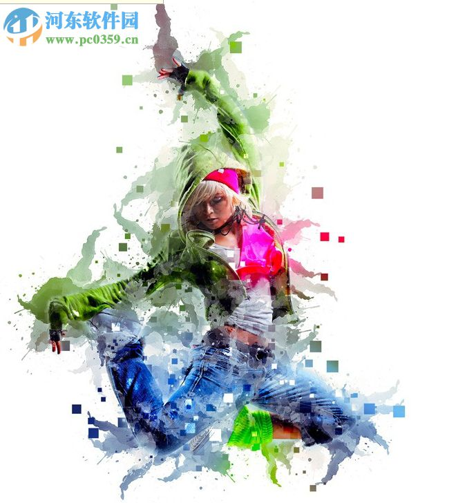 Pixels Painting(ps水彩画插件) 1.0 免费版