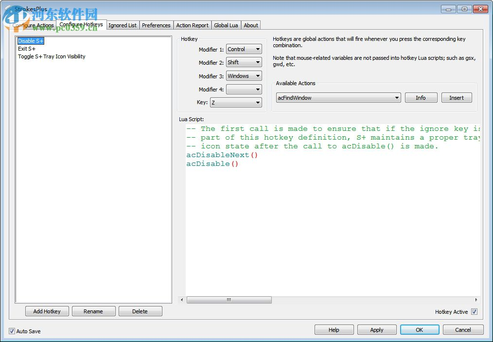strokesplus.net(鼠标手势软件)
