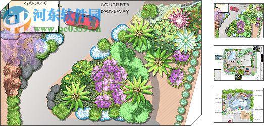 ealtimeLandscapingArchitect(园林设计软件)广联达绘图时如何快速绘制框柱图片