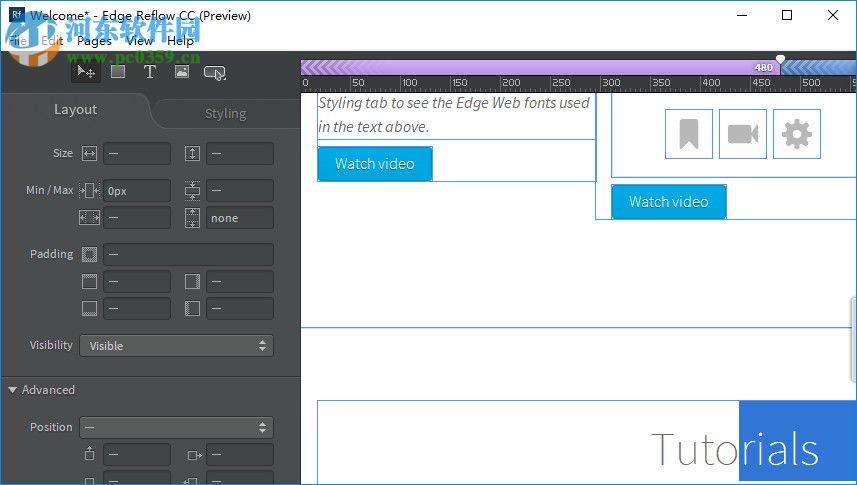 1、打开软件,提示设计的界面,可以在这里打开一个官方的案例    2、将您的更改保存到此项目中,您可以选择从该项目中选择Open Welcome项目,使其成为您自己的视图    3、代码出口用我们的新代码导出选项保存HTML和CSS。使用/Ctrl+E导出项目。    4、使用复选框。单选按钮。选择一个文本区,按钮和窗体的设计。添加到您的画布元素进行从主工具菜单。    5、我们有教程帮助您了解如何使用从布局到添加表单元素的Reaves主题范围。检查一下,了解Reflow的全部情况!使用?按钮访问教程