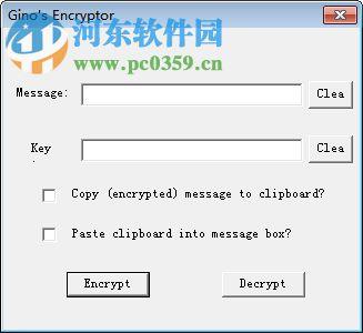 文件加密软件(Ginos Encryptor) 1.0 绿色版