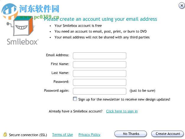 smilebox(Flash相册和幻灯片制作工具) 1.2.2123.1 官方版