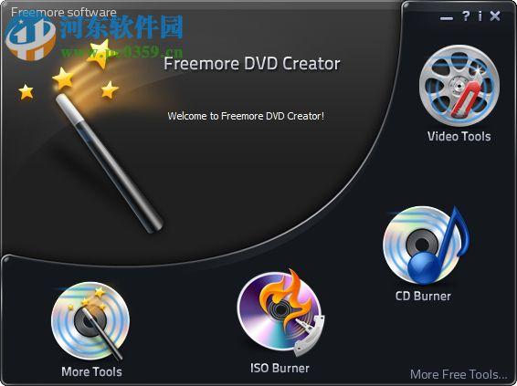 Freemore DVD Cteator(DVD影碟机) 10.8.1 官方版