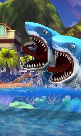 饥饿的双头鲨无限钻石版(3)