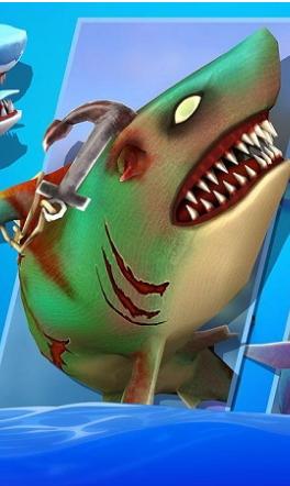 饥饿的双头鲨无限钻石版(4)